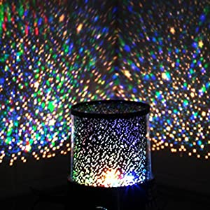 Innoo Tech LED Night Light Projector Lamp Children s Christmas Gift With Amazing Sky Star Scene (With USB Cable) for Bedroom Indoor Decoration