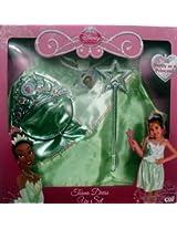 Disney Princess Tiana Dress Up Set Size 4-6x