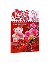 Valentine Voice Of Two Hearts Beautiful Card