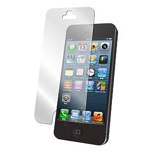 iBUFFALO iPhone5 専用 気泡が消える液晶保護フィルム