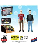 The Big Bang Theory Sheldon & Stuart Figures Con. Exclusive