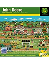 1000-Piece Moline, IL - Home of John Deere Puzzle Art by Anthony Kleem