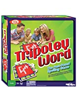 Ideal Tripoley Word Spelling Board Game