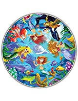 Round Table Puzzle - Kids' Edition - Mermaids (50 Piece)