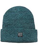 neff Men's Ridge Beanie, Teal, One Size