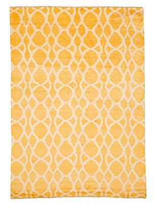 Azra Imports Vogue Rug, Yellow/Ivory, 5' 4