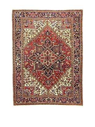 L'Eden del Tappeto Teppich Heriz rot/mehrfarbig 292t x t212 cm