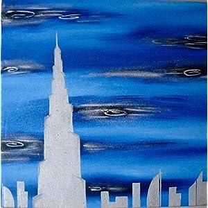 Art by Moi Dubai dreams Painting