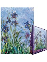 Eurographics Jigsaw Puzzle 1000 Pieces 19.25 X26.5 Monet Irises, C. 1918 25 (Detail) By Eurographics, Inc.