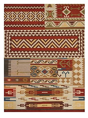 Bunker Hill Rugs Patchwork Rug, Multi, 5' x 7'