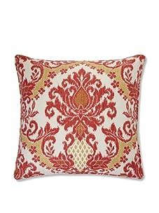 "Jiti Ikat 26"" x 26"" Pillow (Coral)"