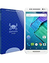 Skinomi Tech Glass - Motorola Moto X Pure Edition / X Style Glass Screen Protector with Lifetime Replacement / Ultra Thin Premium Tempered Glass - 9H Hardness / Oleophobic Coating & 99% Clarity