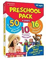 Preschool Pack 4 DVD's Infobells