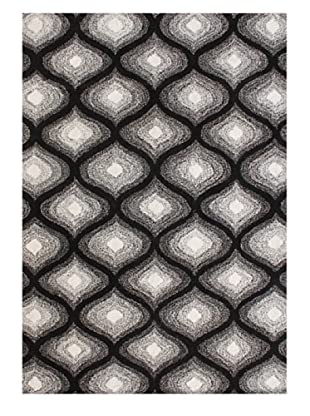 Alliyah Rugs Alliyah Collection (Black/White)