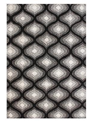 Alliyah Rugs Alliyah Collection (Black/White)