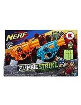Nerf Zombie Strike Doublestrike Blaster 2 Pack