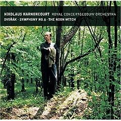 輸入盤 アーノンクール指揮/ロイヤル・コンセルトヘボウ ドヴォルザーク:交響曲第8番 Op.88&交響詩《真昼の魔女》Op.108のAmazonの商品頁を開く