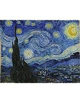 Matterden 'Starry Night by Vincent Van Gogh' Poster (Fine Art Paper, 58 cm x 46 cm)