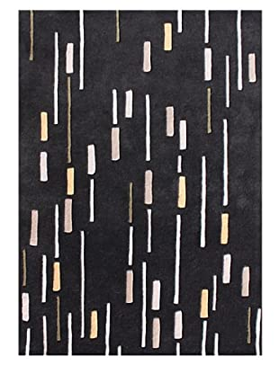 Horizon Rugs New Zealand Wool Rug (Black/Storm/Wheat)