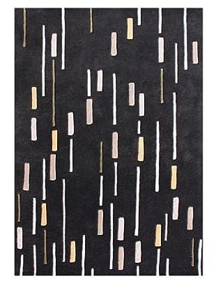 Horizon Rugs New Zealand Wool Rug (Black/Storm/Wheat)