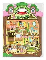 Chipmunk House: Puffy Sticker Play Set