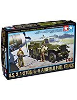 Tamiya Models US Airfield Fuel Truck, 2 1/2 Ton 6 x 6