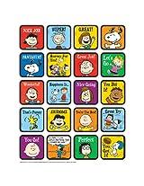 Eureka Peanuts Motivational Theme Stickers