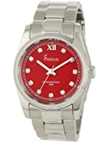 Freelook Men's Ha5304-2 Viceroy Red Dial Stainless-Steel Case And Bracelet Watch