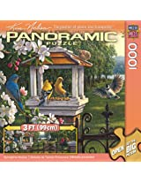 MasterPieces / Kim Norlien Panoramic 1000-piece Puzzle Springtime Melody