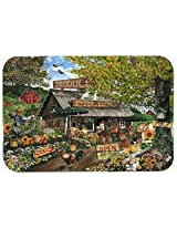 Caroline's Treasures PTW2017JCMT The Produce Fruit Stand Kitchen or Bath Mat, 24 by 36 , Multicolor