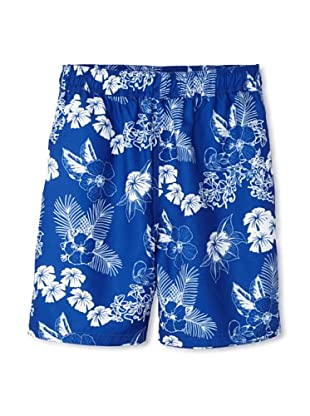 French Connection Men's Lagoon Swim Trunks (Royale)