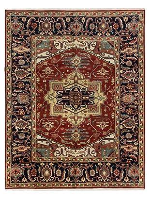 eCarpet Gallery Serapi Heritage Rug, Dark Orange, 8' x 10'
