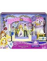 Disney Princess Royal Fairytale Wedding Playset with Rapunzel & Flynn