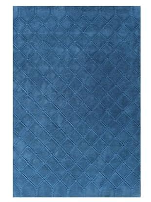 DAC Alfombra Capitone Azul 80 x 130 cm, diseñada por Jordi Labanda