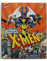 1992 Marvel Comics Look And Find X Men Book Great Condition