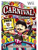 Carnival Games with T-Shirt - Nintendo Wii