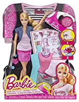 Barbie Iron-On Style Doll - Pack of 1, 5-6 Year