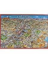 City Of Las Vegas 513 Piece Jigsaw Puzzle By Buffalo Games, Inc.
