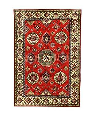 L'Eden del Tappeto Teppich Uzebekistan Super rot/beige 296t x t200 cm