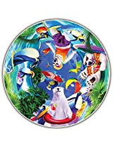 Round Table Puzzle - Kids' Edition - Polar Chill (50 Piece)