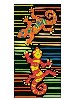 Secaneta Toalla Terciopelo Reptador Multicolor