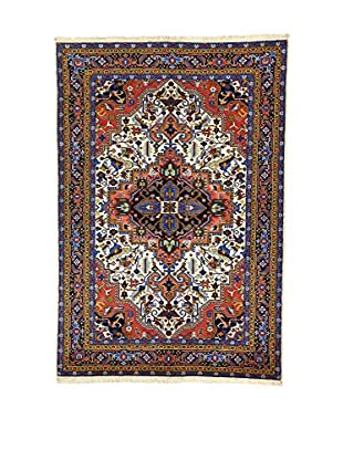 L'Eden del Tappeto Teppich Ardebil Tocco Seta mehrfarbig 203t x t137 cm