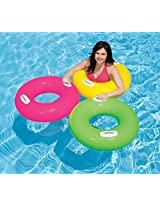 1 Piece Intex 30 Inch Inflatable Pool Swim Tube with Two Handles - For Ages 8+ Years