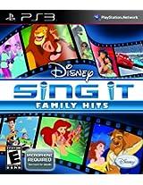 Disney Sing It: Family Hits (PS3)