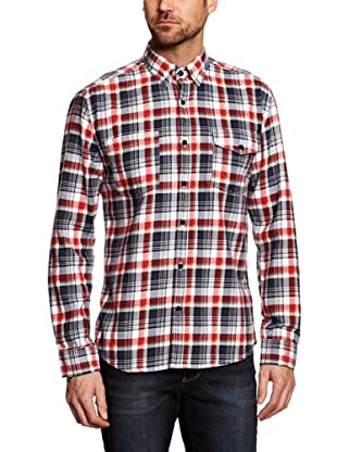 Selected Camisa Georgia (Rojo / Negro)