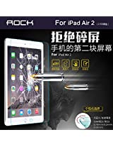 "ROCK 2.5 D .3MM (IPAD AIR 2) SCREEN PROTECTOR TEMPERED GLASS-""for ipad air 2"""