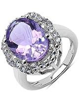 Silverona Amethyst Silver Ring
