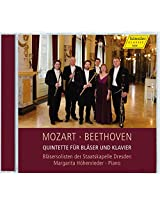 Mozart & Beethoven: Quintets for Winds & Piano