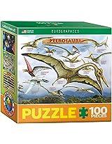 Euro Graphics Pterosaurs Mini Puzzle (100 Piece)