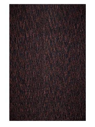Dreamweavers Velour Rug, Black/Brown, 6' x 9'